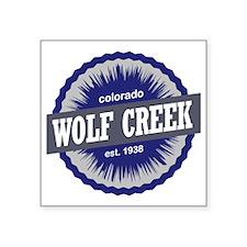 "Wolf Creek Square Sticker 3"" x 3"""