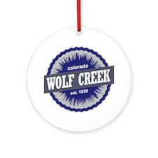 Wolf Creek Round Ornament