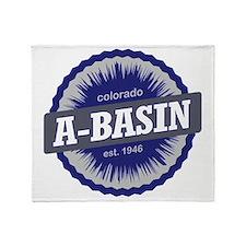 Arapahoe Basin Ski Resort Colorado - Throw Blanket