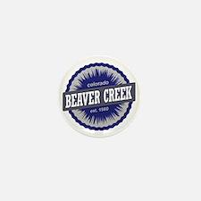 Beaver Creek Ski Resort Colorado - Blu Mini Button