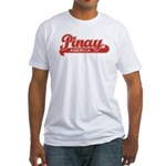 Pinay America Fitted T-shirt