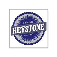 "Keystone Ski Resort Colorad Square Sticker 3"" x 3"""