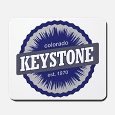 Keystone Ski Resort Colorado - Blue Mousepad