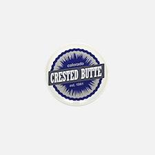 Crested Butte Ski Resort Colorado - Bl Mini Button