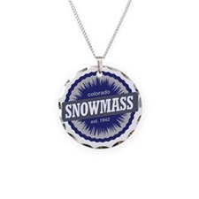 Snowmass Ski Resort Colorado Necklace