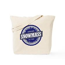 Snowmass Ski Resort Colorado - Blue Tote Bag