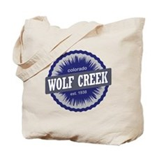 Wolf Creek Ski Resort Colorado - Blue Tote Bag