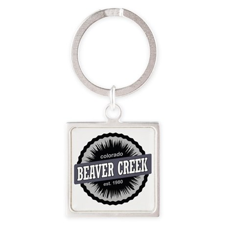Beaver Creek Ski Resort Colorado B Square Keychain