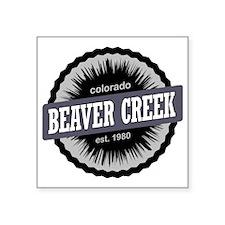 "Beaver Creek Ski Resort Col Square Sticker 3"" x 3"""