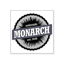"""Monarch Ski Resort Colorado Square Sticker 3"""" x 3"""""""