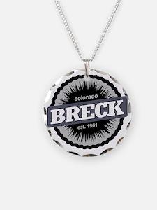 Breckenridge Ski Resort Colo Necklace