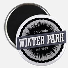 Winter Park Ski Resort Colorado Black Magnet