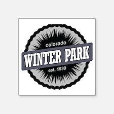 """Winter Park Ski Resort Colo Square Sticker 3"""" x 3"""""""