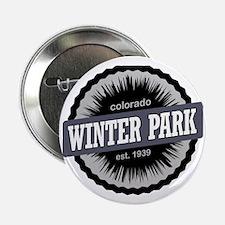 "Winter Park Ski Resort Colorado Black 2.25"" Button"