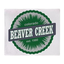 Beaver Creek Ski Resort Colorado Gre Throw Blanket