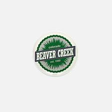 Beaver Creek Ski Resort Colorado Green Mini Button
