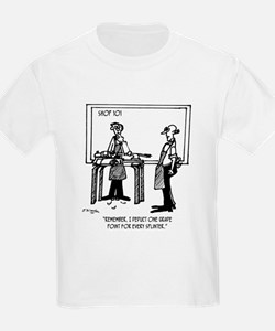 Deduct from Grade for Every Splinter T-Shirt