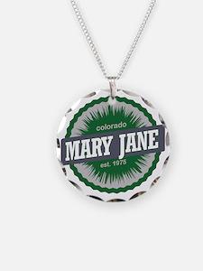 Mary Jane Ski Resort Colorad Necklace