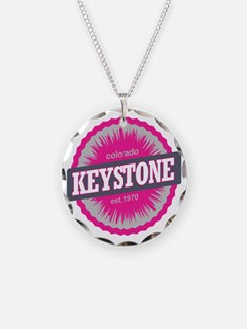 Keystone Ski Resort Colorado Necklace