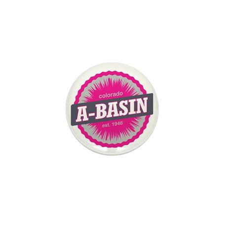 Arapahoe Basin Ski Resort Colorado Pin Mini Button