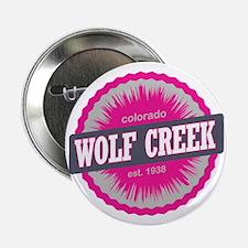 "Wolf Creek Ski Resort Colorado Pink 2.25"" Button"