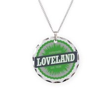 Loveland Ski Resort Colorado Necklace