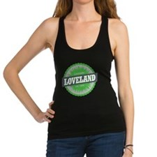 Loveland Ski Resort Colorado Li Racerback Tank Top