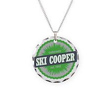 Ski Cooper Ski Resort Colora Necklace Circle Charm