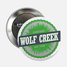 "Wolf Creek Ski Resort Colorado Lime 2.25"" Button"