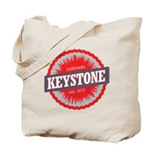 Keystone Ski Resort Colorado Red Tote Bag