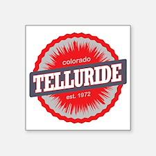 """Telluride Ski Resort Colora Square Sticker 3"""" x 3"""""""