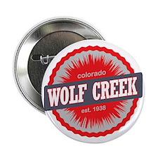 "Wolf Creek Ski Resort Colorado Red 2.25"" Button"