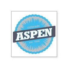 "Aspen Ski Resort Colorado S Square Sticker 3"" x 3"""