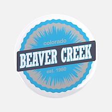 "Beaver Creek Ski Resort Colorado Sky B 3.5"" Button"