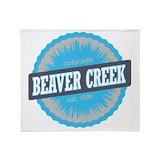 Beaver Creek Ski Resort Colorado Sky Throw Blanket