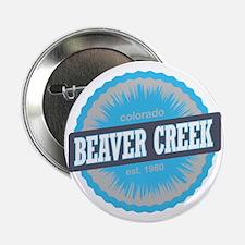 """Beaver Creek Ski Resort Colorado Sky  2.25"""" Button"""