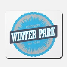 Winter Park Ski Resort Colorado Sky Blue Mousepad
