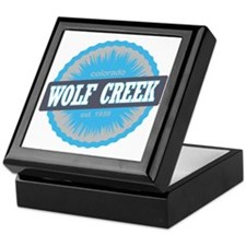 Wolf Creek Ski Resort Colorado Sky Bl Keepsake Box