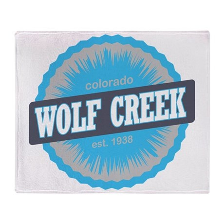 Wolf Creek Ski Resort Colorado Sky B Throw Blanket