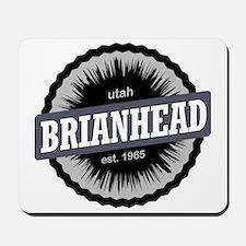 Brian Head Ski Resort Utah Black Mousepad
