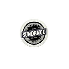 Sundance Ski Resort Utah Black Mini Button
