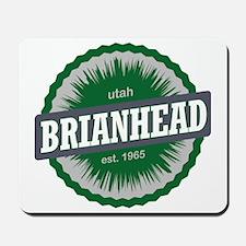 Brian Head Ski Resort Utah Green Mousepad