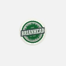 Brian Head Ski Resort Utah Green Mini Button