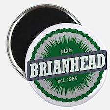 Brian Head Ski Resort Utah Green Magnet