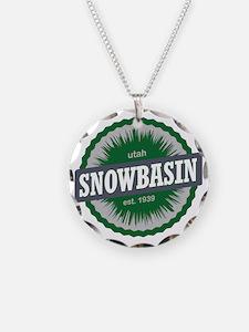Snowbasin Ski Resort Utah Gr Necklace