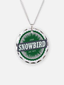 Snowbird Ski Resort Utah Gre Necklace