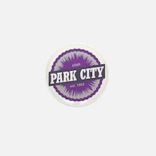 Park City Mountain Ski Resort Utah Pur Mini Button