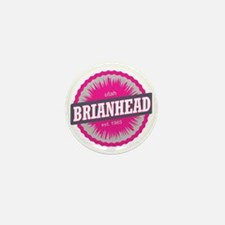 Brian Head Ski Resort Utah Pink Mini Button