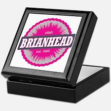 Brian Head Ski Resort Utah Pink Keepsake Box