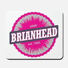 Brian Head Ski Resort Utah Pink Mousepad